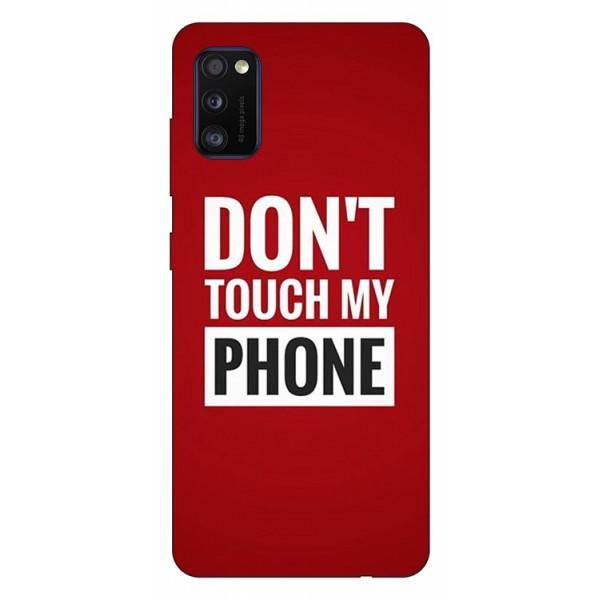 Husa Silicon Soft Upzz Print Samsung Galaxy Galaxy A41 Model My Phone imagine itelmobile.ro 2021