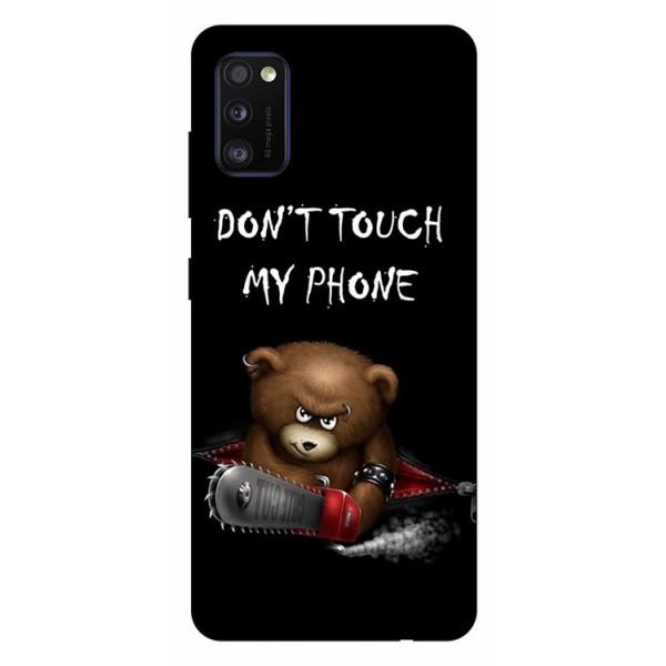 Husa Silicon Soft Upzz Print Samsung Galaxy Galaxy A41 Model My Phone 2 imagine itelmobile.ro 2021