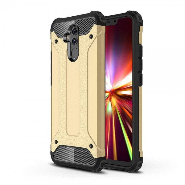 Husa Spate Armor Forcell Huawei Mate 20 Lite Gold imagine itelmobile.ro 2021