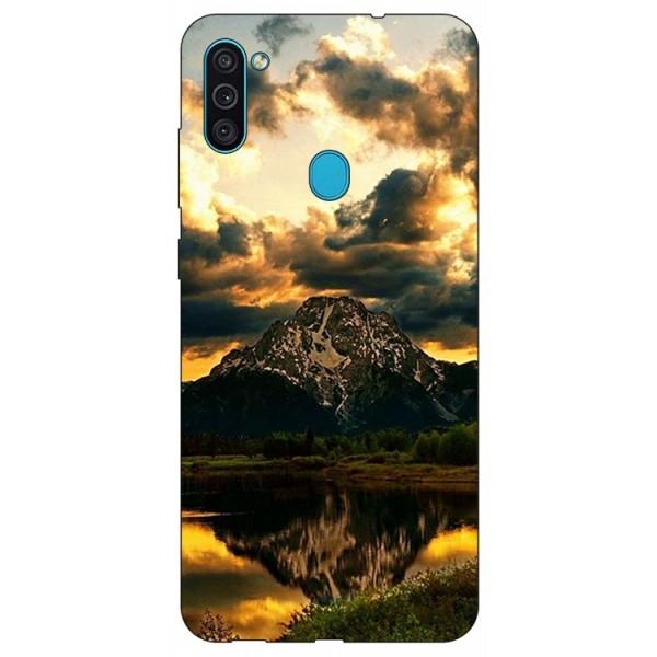 Husa Silicon Soft Upzz Print Samsung Galaxy A11 Model Apus imagine itelmobile.ro 2021