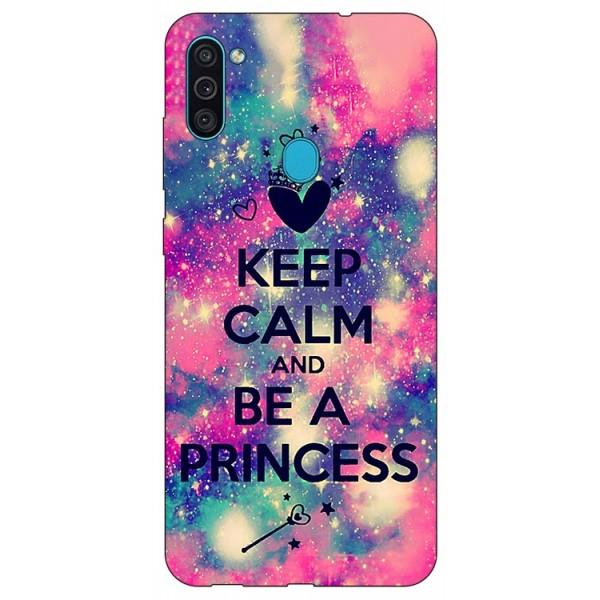 Husa Silicon Soft Upzz Print Samsung Galaxy A11 Model Be Princess imagine itelmobile.ro 2021