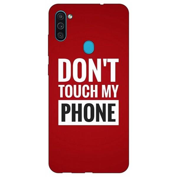 Husa Silicon Soft Upzz Print Samsung Galaxy A11 Model My Phone imagine itelmobile.ro 2021