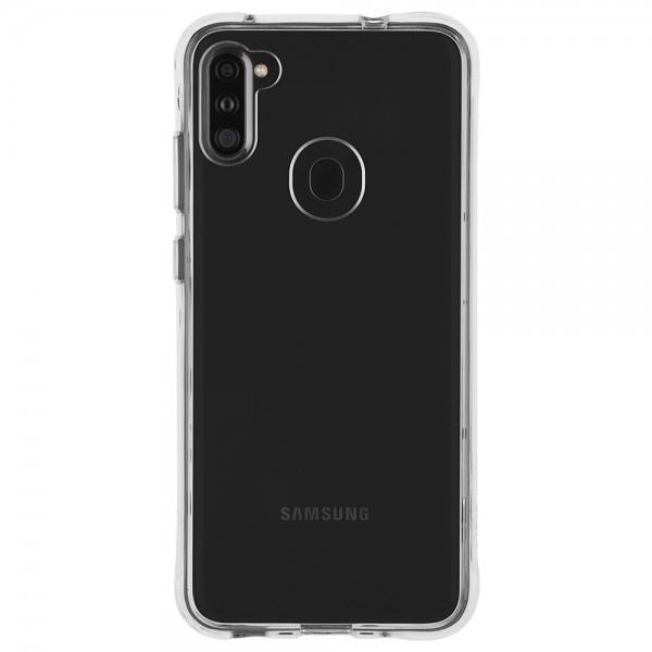 Husa Spate Silicon Ultra Slim Upzz Samsung Galaxy M11 Transparenta imagine itelmobile.ro 2021