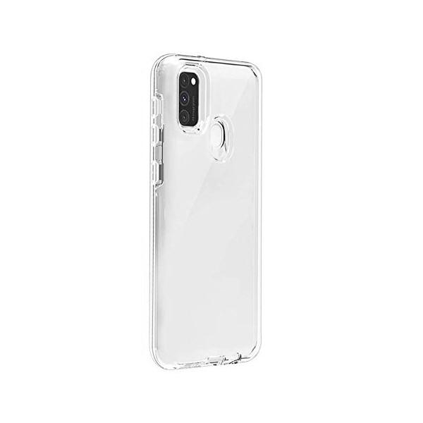 Husa Spate Silicon Ultra Slim Upzz Samsung Galaxy M21 Transparenta imagine itelmobile.ro 2021