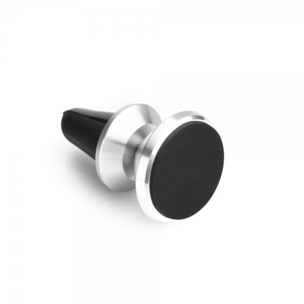 Suport Auto Magnetic Pentru Ventilatie Metalic ,silver imagine itelmobile.ro 2021