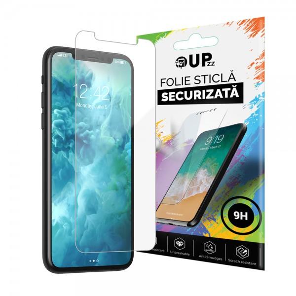 Folie Sticla Securizata Premium 9h iPhone 11 Transparenta imagine itelmobile.ro 2021