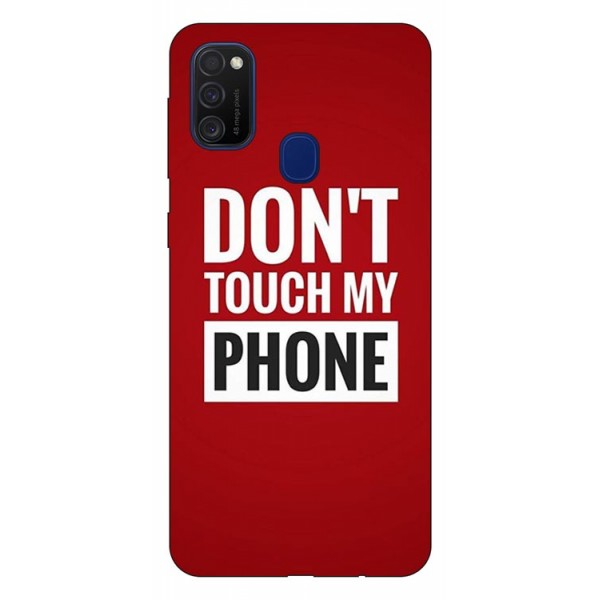 Husa Silicon Soft Upzz Print Samsung Galaxy M21 Model My Phone imagine itelmobile.ro 2021