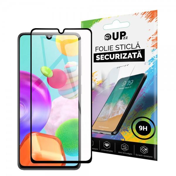 Folie Sticla Full Cover Full Glue Upzz Samsung Galaxy A41 Cu Adeziv Pe Toata Suprafata Foliei Neagra imagine itelmobile.ro 2021
