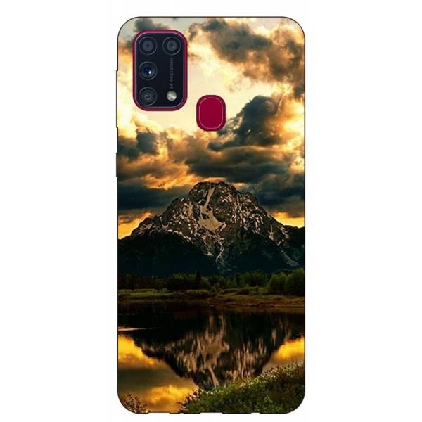 Husa Silicon Soft Upzz Print Samsung Galaxy M31 Model Apus imagine itelmobile.ro 2021