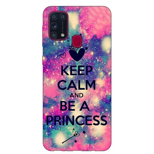 Husa Silicon Soft Upzz Print Samsung Galaxy M31 Model Be Princess imagine itelmobile.ro 2021