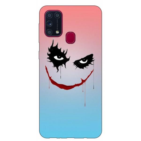 Husa Silicon Soft Upzz Print Samsung Galaxy M31 Model Joker imagine itelmobile.ro 2021