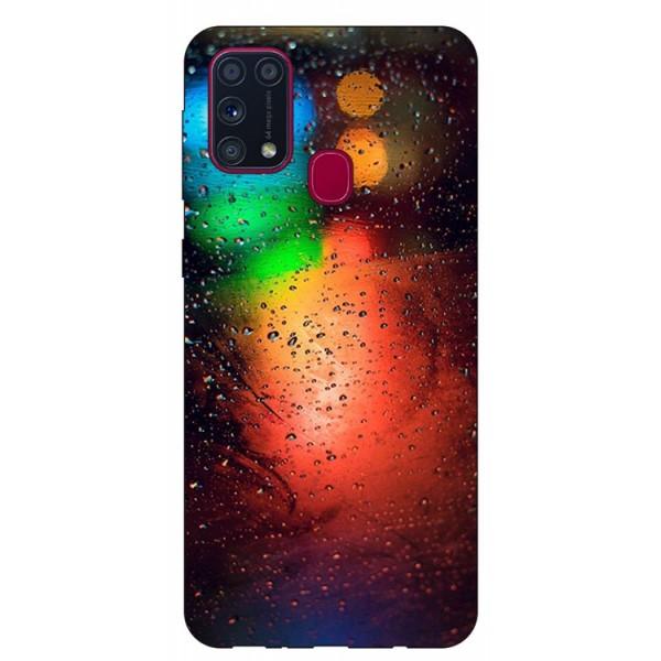 Husa Silicon Soft Upzz Print Samsung Galaxy M31 Model Multicolor imagine itelmobile.ro 2021