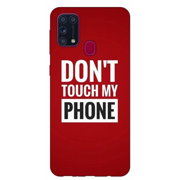 Husa Silicon Soft Upzz Print Samsung Galaxy M31 Model My Phone imagine itelmobile.ro 2021