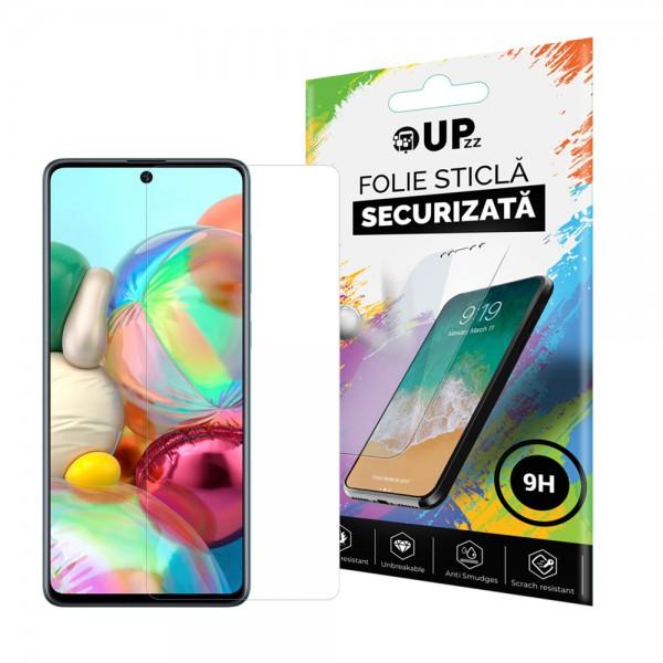 Folie Sticla Securizata Upzz Pro Compaibila Cu Samsung Galaxy A51 Transparenta imagine itelmobile.ro 2021