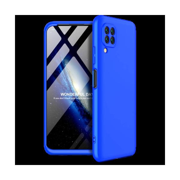 Husa 360 Grade Upzz Protection Huawei P40 Lite Albastru imagine itelmobile.ro 2021