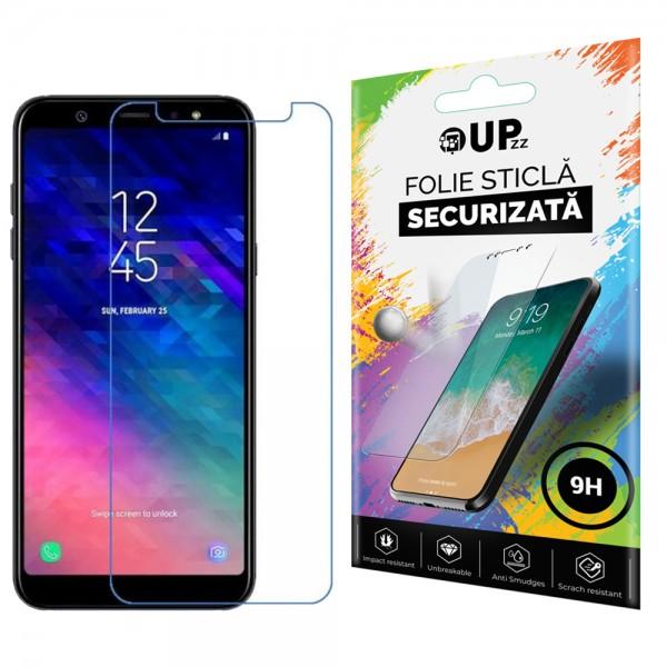 Folie Sticla Securizata 9h Upzz Samsung Galaxy A6+ Plus 2018 Transparenta imagine itelmobile.ro 2021