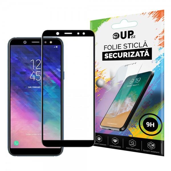 Folie Sticla Securizata 3d Full Cover Samsung J6 2018 Black imagine itelmobile.ro 2021