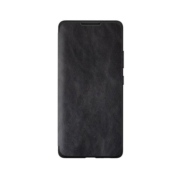 Husa Premium Flip Book Upzz Leather Huawei P40 Pro , Piele Ecologica, Negru imagine itelmobile.ro 2021