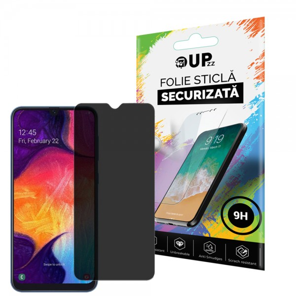 Folie Sticla Full Cover Privacy Premium Upzz Pro Glass Samsung Galaxy J4+ Plus 2018 Cu Adeziv Pe Toata Suprafata imagine itelmobile.ro 2021