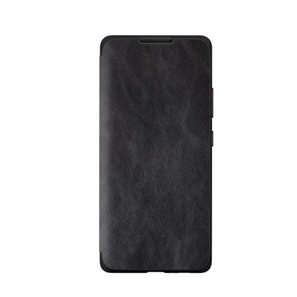 Husa Premium Flip Book Upzz Leather Huawei P40 , Piele Ecologica, Negru imagine itelmobile.ro 2021