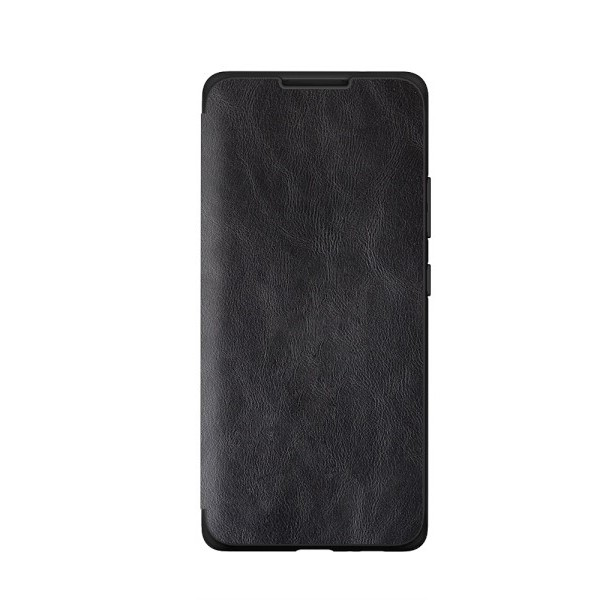 Husa Premium Flip Book Upzz Leather Samsung Galaxy A21 , Piele Ecologica, Negru imagine itelmobile.ro 2021