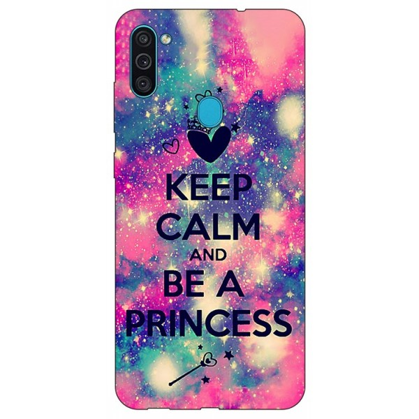 Husa Silicon Soft Upzz Print Samsung Galaxy M11 Be Princess imagine itelmobile.ro 2021