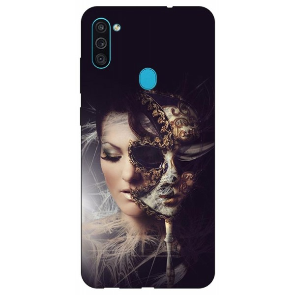 Husa Silicon Soft Upzz Print Samsung Galaxy M11 Carnaval imagine itelmobile.ro 2021