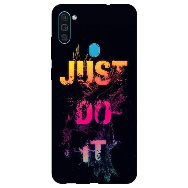 Husa Silicon Soft Upzz Print Samsung Galaxy M11 Jdi imagine itelmobile.ro 2021