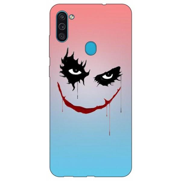 Husa Silicon Soft Upzz Print Samsung Galaxy M11 Joker imagine itelmobile.ro 2021