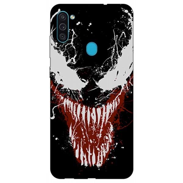 Husa Silicon Soft Upzz Print Samsung Galaxy M11 Monster imagine itelmobile.ro 2021