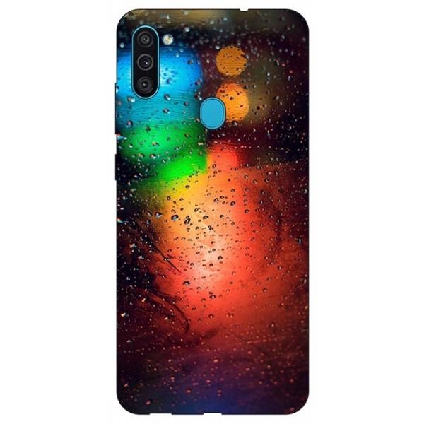 Husa Silicon Soft Upzz Print Samsung Galaxy M11 Multicolor imagine itelmobile.ro 2021