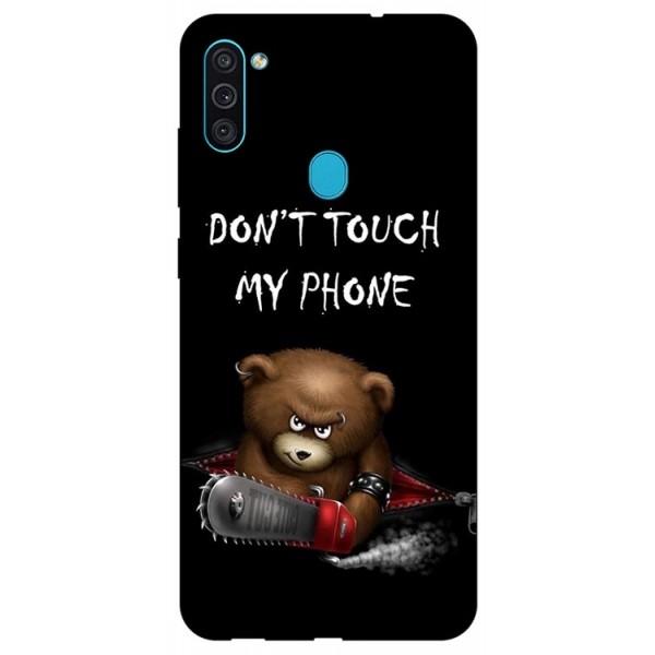 Husa Silicon Soft Upzz Print Samsung Galaxy M11 My Phone2 imagine itelmobile.ro 2021