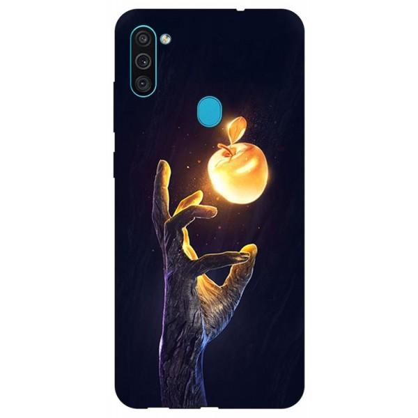 Husa Silicon Soft Upzz Print Samsung Galaxy M11 Reach imagine itelmobile.ro 2021