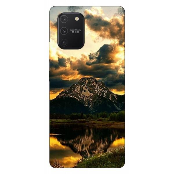 Husa Silicon Soft Upzz Print Samsung Galaxy S10 Lite Model Apus imagine itelmobile.ro 2021