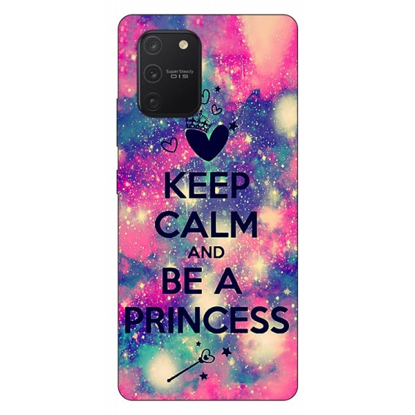 Husa Silicon Soft Upzz Print Samsung Galaxy S10 Lite Model Be Princess imagine itelmobile.ro 2021