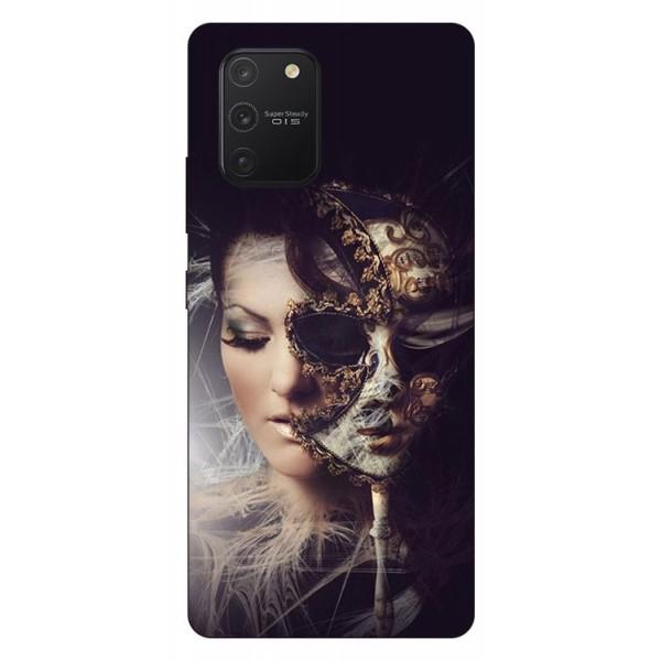 Husa Silicon Soft Upzz Print Samsung Galaxy S10 Lite Model Carnaval imagine itelmobile.ro 2021