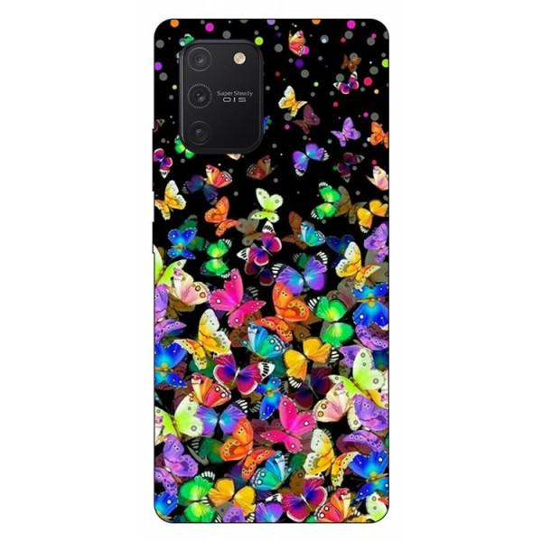 Husa Silicon Soft Upzz Print Samsung Galaxy S10 Lite Model Colorature imagine itelmobile.ro 2021