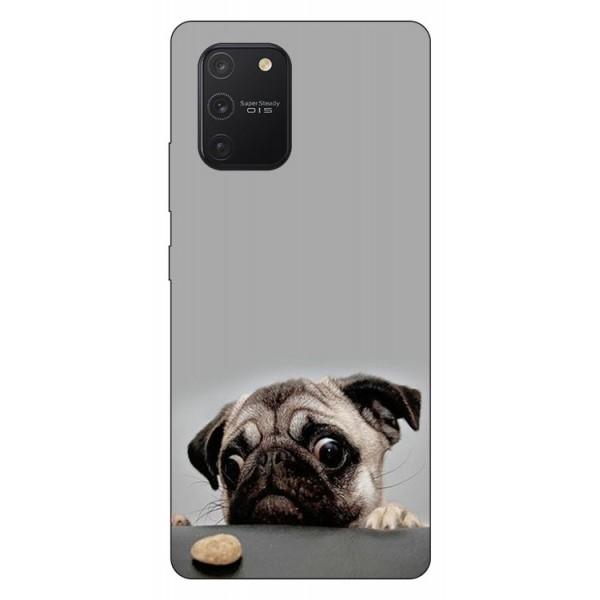Husa Silicon Soft Upzz Print Samsung Galaxy S10 Lite Model Dog imagine itelmobile.ro 2021