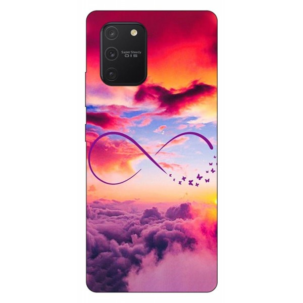 Husa Silicon Soft Upzz Print Samsung Galaxy S10 Lite Model Infinity imagine itelmobile.ro 2021