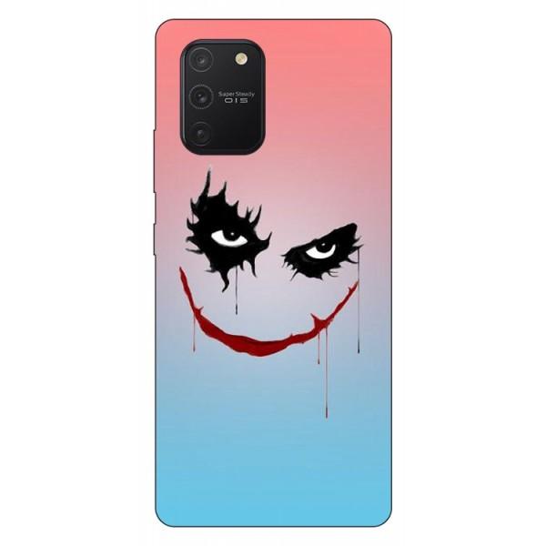 Husa Silicon Soft Upzz Print Samsung Galaxy S10 Lite Model Joker imagine itelmobile.ro 2021