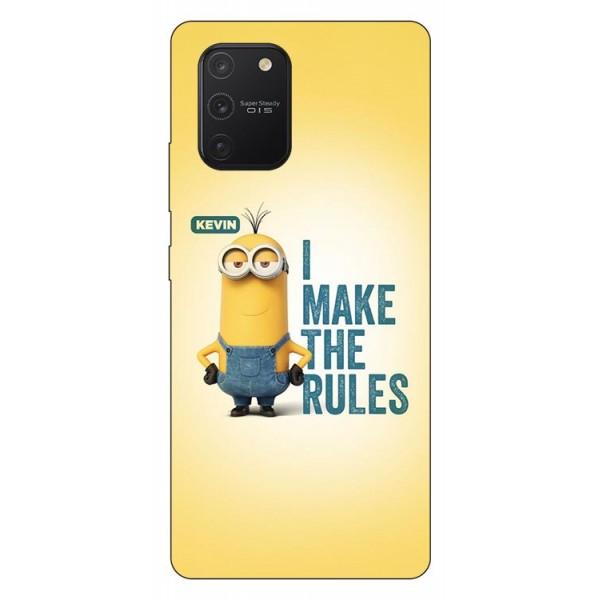 Husa Silicon Soft Upzz Print Samsung Galaxy S10 Lite Model Kevin imagine itelmobile.ro 2021