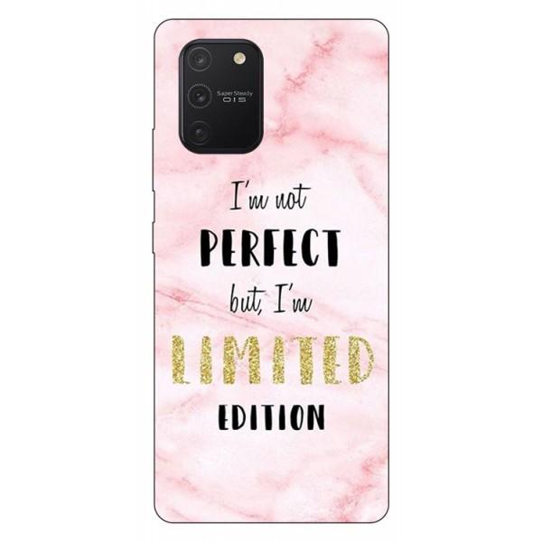 Husa Silicon Soft Upzz Print Samsung Galaxy S10 Lite Model Limited Edition1 imagine itelmobile.ro 2021