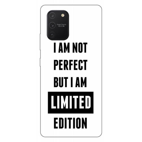Husa Silicon Soft Upzz Print Samsung Galaxy S10 Lite Model Limited Edition imagine itelmobile.ro 2021