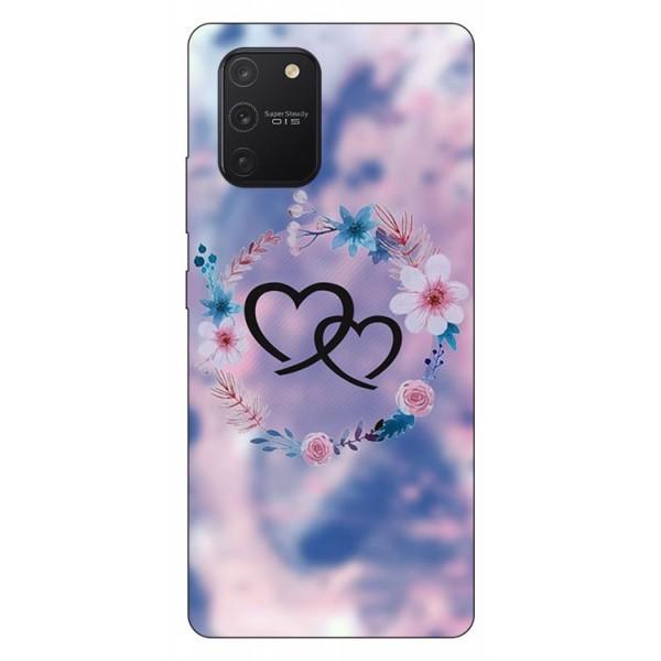 Husa Silicon Soft Upzz Print Samsung Galaxy S10 Lite Model Love imagine itelmobile.ro 2021
