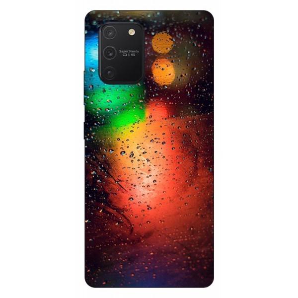 Husa Silicon Soft Upzz Print Samsung Galaxy S10 Lite Model Multicolor imagine itelmobile.ro 2021