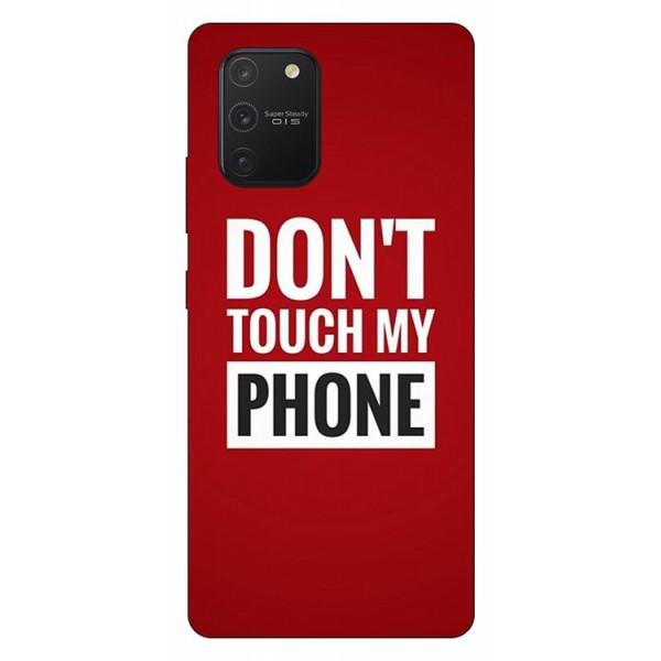 Husa Silicon Soft Upzz Print Samsung Galaxy S10 Lite Model My Phone imagine itelmobile.ro 2021