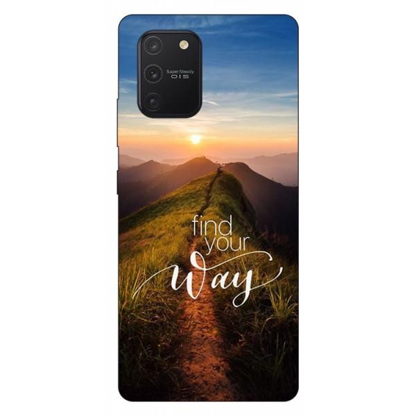 Husa Silicon Soft Upzz Print Samsung Galaxy S10 Lite Model Way imagine itelmobile.ro 2021