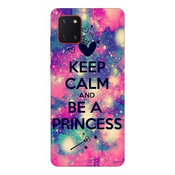Husa Silicon Soft Upzz Print Samsung Galaxy Note 10 Lite Model Be Princess imagine itelmobile.ro 2021