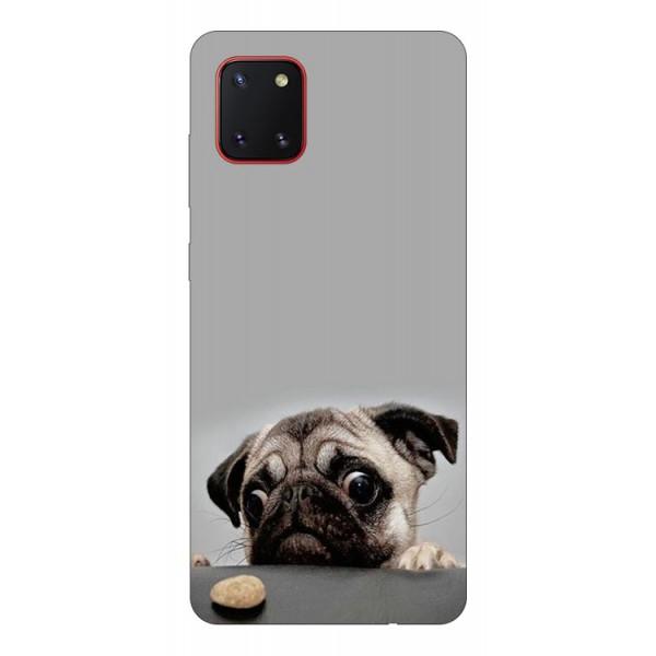 Husa Silicon Soft Upzz Print Samsung Galaxy Note 10 Lite Model Dog imagine itelmobile.ro 2021