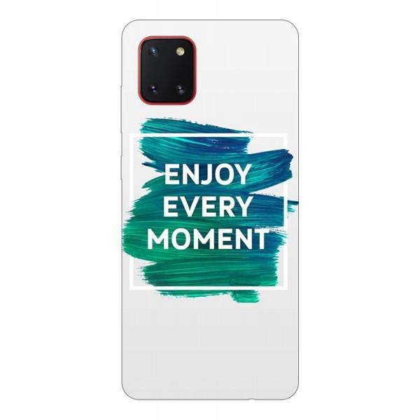 Husa Silicon Soft Upzz Print Samsung Galaxy Note 10 Lite Model Enjoy imagine itelmobile.ro 2021